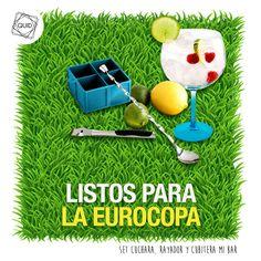 ¡Con el set Mi bar, vivirás la Eurocopa de otra manera!
