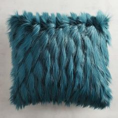 Fuzzy and super-soft, our cute faux fur pillow brings eye-catching texture to your armchair, sofa or bed. No eyelash curler required.