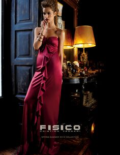 Lise Olsen agency Casting Firenze (www.casting.it) for FISICO Campaign/Spring Summer 2012 - Fulvio Maiani photographer