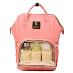 3b3c5a39a Mummy Dad Maternity Nappy Diaper Bag Baby Nursing Large Shoulder Backpack  New