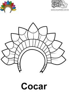Resultado de imagem para atividades dia do indio educação infantil com tinta