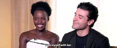 Watch Oscar Isaac Charm the Pants off Every Single Star Wars: The Force Awakens Cast Member | Vanity Fair