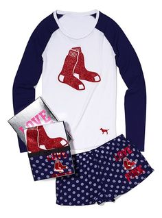 Boston Red Sox Tee & Boxer Gift Set from Victoria's Secret $49.50
