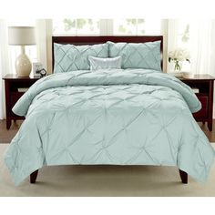 Shop for Premium Collection Pintuck 3-piece Comforter Set. Get free shipping at Overstock.com - Your Online Fashion Bedding Outlet Store! Get 5% in rewards with Club O!