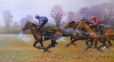 Good Thing Next Time Out Limited Edition Horse Racing Print by Peter Curling