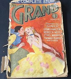 Antiquarian Copy of The Grand Magazine  Feb 1932 UK Poor Condition but Rare Find
