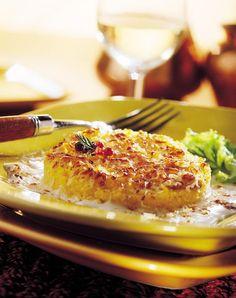 gratin de polenta with beaufort
