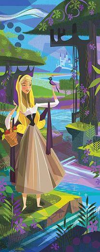 the Disney art of Mark Swanson