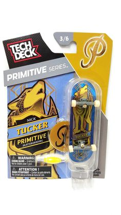 Tech Deck Primitive Series Nick Tucker Primitive Skateboarding 3/6 I Cool, Cool Stuff, Tech Deck, Games For Kids, Childhood Memories, Primitive, Have Fun, Skateboarding, Decks