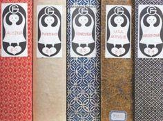Alexander Girard book spines