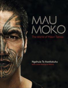 Traditional Maori face tattoo...