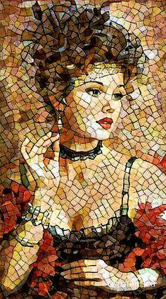 Mosaic Tile Art, Mosaic Artwork, Mosaic Diy, Mosaic Crafts, Mosaic Projects, Mosaic Glass, Glass Art, Stained Glass, Art Pierre