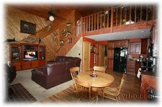 Last year's cabin in Lac du Flambeau, only 10 minutes from Minocqua. Unbeatable price for the cabin, and it was in a picturesque location you have to see to believe.