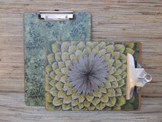 Check out this item in my Etsy shop https://www.etsy.com/listing/225550477/set-of-2-redone-vintage-clipboards