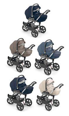 Cam Kinderwagen Cortina X3 Tris Evolution by CAMSPA Italy für Baby und Kind