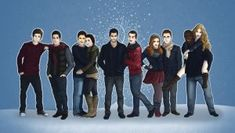 This is the cover to The Christmas Howl, a Sterek Christmas Calendar project put together by a team of writers and artists, and I couldn't be prouder to. The Christmas Howl - Cover Teen Wolf Art, Far Future, Christmas Calendar, Derek Hale, Sterek, Geek Girls, Dylan O'brien, Werewolf, Mtv