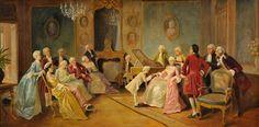 August Friedrich Knoop Der junge Mozart