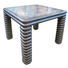 1stdibs - 1970s Metallic Lacquer Game Table explore items from 1,700  global dealers at 1stdibs.com