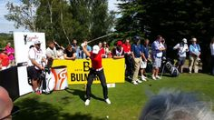 #GarethBale in action from the 3rd tee
