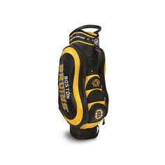 Team Golf Boston Bruins Medalist Cart Bag, Multicolor