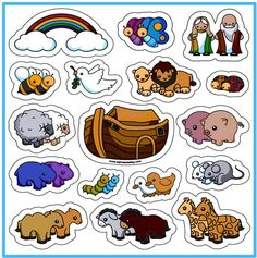 Faith-based Items > Toys Noah and the Ark Magnet Set YOU CAN PURCHASE