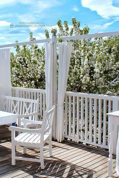 Glassveranda: Terrassegardiner = fleksible levegger til terrassen