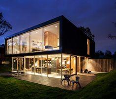 Villa v by paul de ruiter architects s fachadas pinterest vivienda - La villa berkel par paul de ruiter ...
