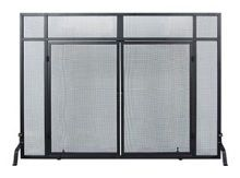 Windowpane Screen with Doors,
