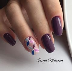 115 pretty nails light up on your fingertips to give you a cool summer 19 Acrylic Nail Designs, Nail Art Designs, Acrylic Nails, Gel Nails, Elegant Nails, Stylish Nails, Trendy Nails, Cute Nail Art, Cute Nails