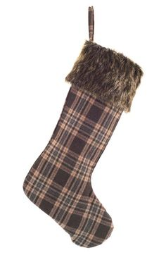 MELROSE GIFTS Plaid Stocking available at #Nordstrom