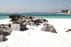 View of the bridge and the Emerald Grande from Destin Pointe, a gated community of single-family homes and condos overlooking the Gulf of Mexico and East Pass