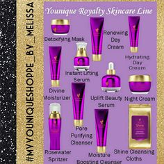 #Younique #Royalty #Skincare Line!!! Everything you need to #pamper, #rejovinate & #refresh your #skin!  ####instaglam#vip#lounge#beauty #makeup #unisexskincare #youniquepresenter  Join↪: www.facebook.com/groups/635669573258277/ Shop : www.youniqueproducts.com/MelissaSisneros/party/5099589/view Like & Share : www.facebook.com/myyouniqueshoppebymelissa
