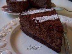 Gâteau aux truffes