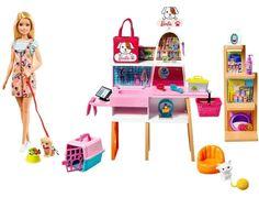 Barbie Chelsea Doll, Barbie Doll Set, Barbie Sets, Barbie Doll Stuff, Accessoires Barbie, Barbie Playsets, Unicorn Coloring Pages, Pet Boutique, Doll Shop