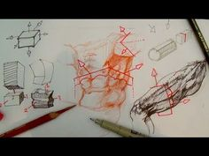 How to Draw Complex Forms Part 4   Major & minor planes like Michelangelo - YouTube