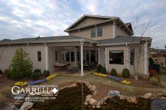 Garrell Associates, Inc. Monroe House Plan 04228, Rear Elevation, Design by Michael W. Garrell
