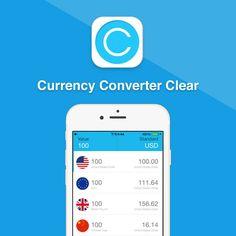 Currency Converter Clear es una aplicación elegante y cuidada para convertir divisas mediante una interfaz eficaz y ergonómica. #divisas #dinero #conversión http://www.pandabuzz.com/es/app-del-dia/currency-converter-conversión-divisas