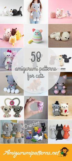 58 Cats Amigurumi Patterns