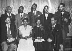 Arna Bontemps, Margaret Walker Alexander, Langston Hughes, and others,