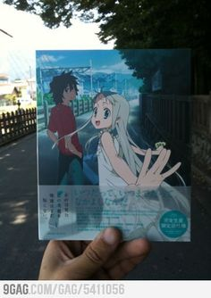 Anohana (I think that's how you spell it)