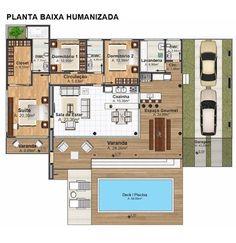 Projeto Arquitetônico: Casa Camboriú • Cód. 402 • R$ 1.190,00