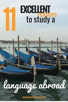 why study a language abroad venice - 11 Excellent Reasons to Study a Language Abroad - women-on-the-road.com