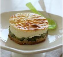 Recette - Cheesecake aux courgettes - Notée 4.2/5 par les internautes