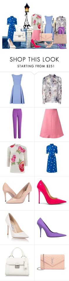 """""""Looks to Wear Now"""" by mpmongillo ❤ liked on Polyvore featuring Boutique Moschino, RED Valentino, Naeem Khan, L.K.Bennett, Paul Smith, Jimmy Choo, Balenciaga, Miu Miu, Yves Saint Laurent and Prada"""
