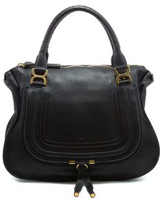 """Some of you have to get in on this: Chloe """"Marcie"""" Large Leather Shoulder Bag"""