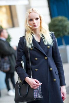 Paris Fashion Week Style Street-Style Fashion Moda PFW heelsandpeplum