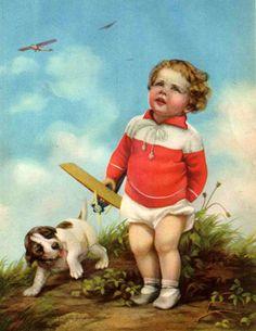 Baby's Wonder World - Boy With Toy Plane