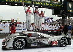 Le Mans 2011 Audi Wins
