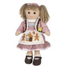 Bambola di pezza My Doll Bambola Gretel 42cm Curata nei minimi dettagli, è realizzata a mano in Italia.