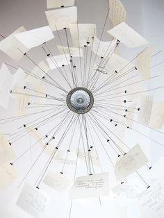 Zettel'z5 ceiling lamp ° Ingo Maurer